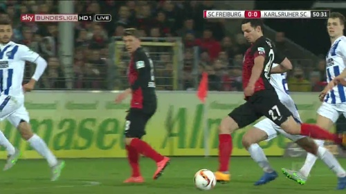 Nicolas Höfler – SC Freiburg v KSC