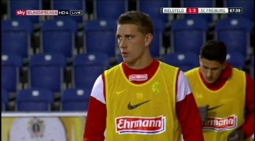 Nils Petersen - Arminia Bielefeld v SC Freiburg 1