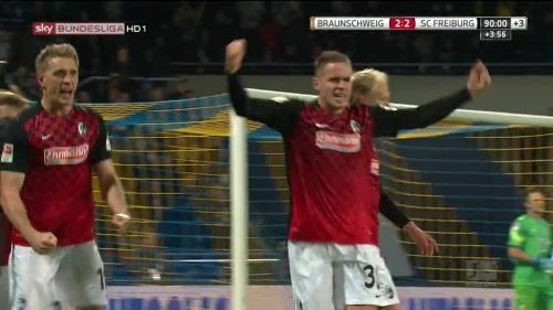 Nils Petersen & Christian Günter – Braunschweig v SC Freiburg 1