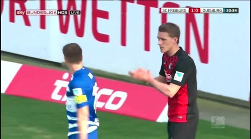 Nils Petersen – Freiburg v Duisburg 2