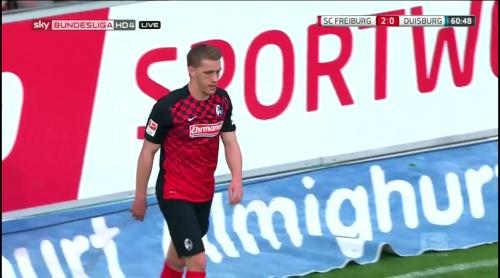 Nils Petersen – Freiburg v Duisburg 4