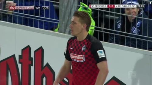 Nils Petersen – SC Freiburg v KSC 2