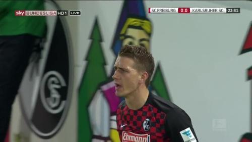 Nils Petersen – SC Freiburg v KSC 3