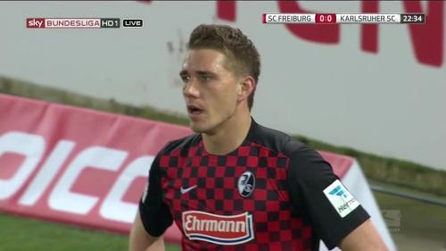 Nils Petersen – SC Freiburg v KSC 4