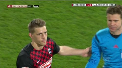 Nils Petersen – SC Freiburg v KSC 5