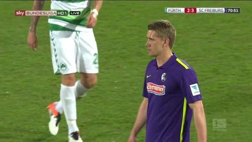 Nils Petersen - Greuther Fürth v SC Freiburg 1