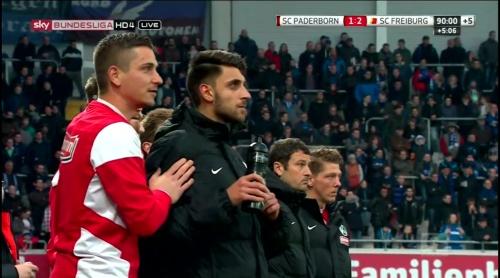 Patric Klant & Vincenzo Grifo - SC Padeborn v SC Freiburg 1