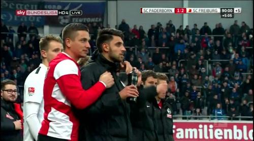 Patric Klant & Vincenzo Grifo - SC Padeborn v SC Freiburg 2