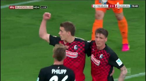 Petersen, Frantz & Philipp – Freiburg v Duisburg 1