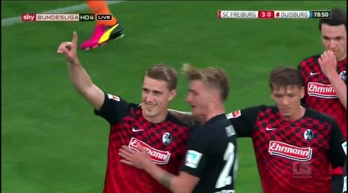 Petersen, Frantz & Philipp – Freiburg v Duisburg 3