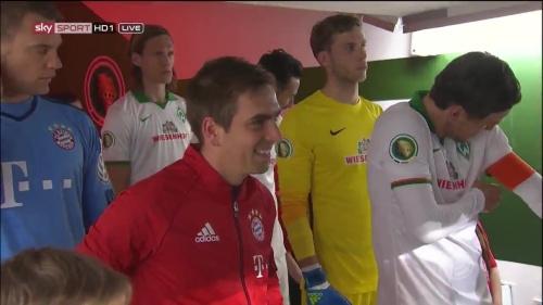 Philipp Lahm - Bayern v Bremen (DFB Pokal) 1