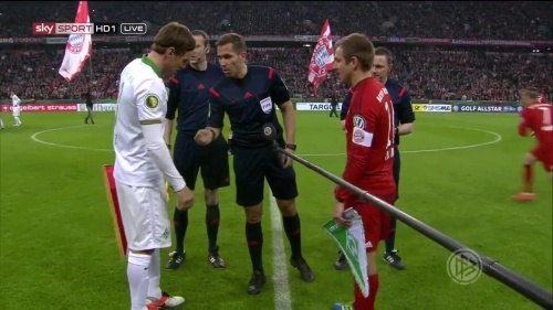Philipp Lahm - Bayern v Bremen (DFB Pokal) 2