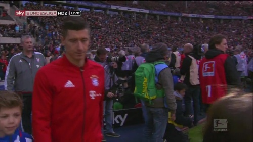 Robert Lewandowksi – Hertha v Bayern 1