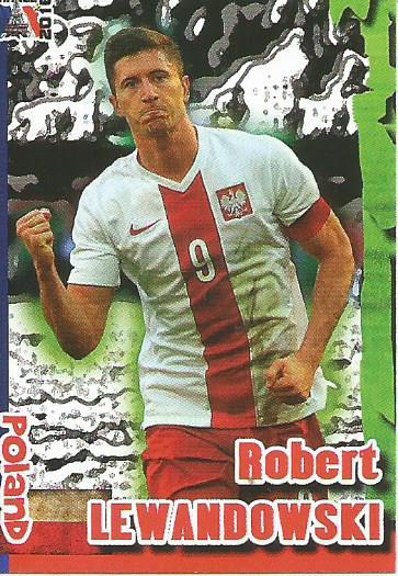 Robert Lewandowski - Poland - Euro 2016 Schoolshop sticker