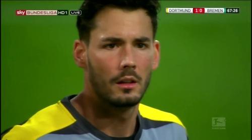 Roman Bürki - Dortmund v Bremen 2