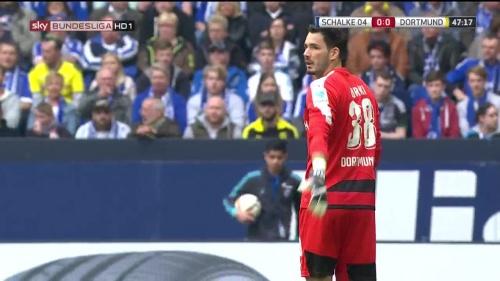 Roman Bürki – Schalke v Dortmund 2