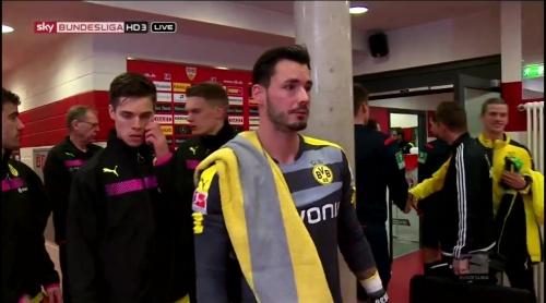 Roman Bürki – Stuttgart v Dortmund 1