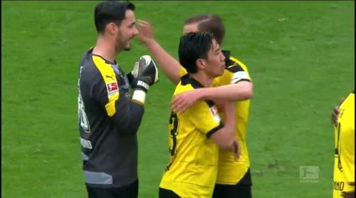 Roman Bürki – Stuttgart v Dortmund 4