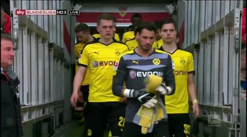 Roman Bürki & Matthias Ginter – Stuttgart v Dortmund 1