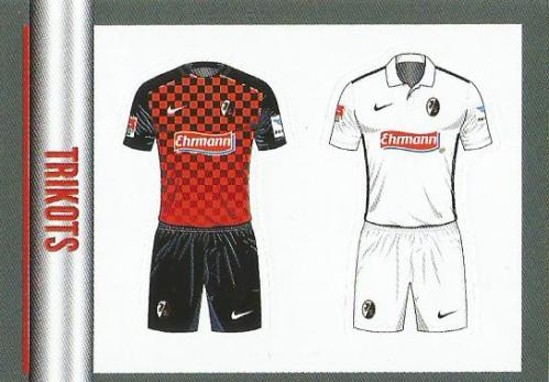 SC Freiburg Trikots - Bundesliga 2015-16 sticker