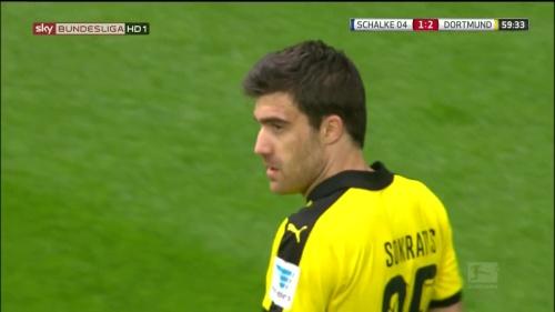 Sokratis – Schalke v Dortmund 2