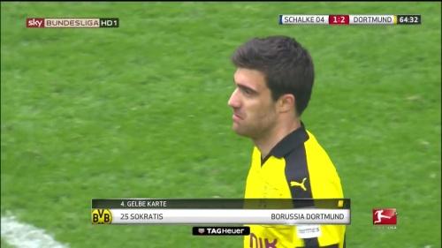 Sokratis – Schalke v Dortmund 3