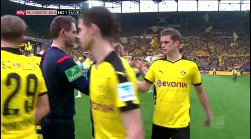 Sven Bender - Dortmund v Bremen 1