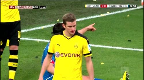 Sven Bender – Dortmund v Hoffenheim 1