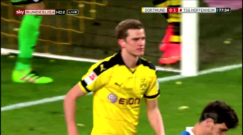 Sven Bender – Dortmund v Hoffenheim 3