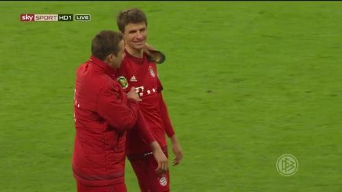 Thomas Müller - Bayern v Bremen (DFB Pokal) 4