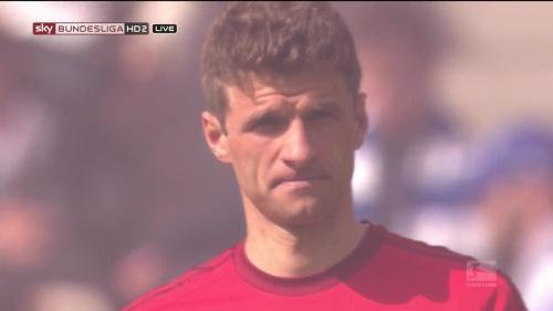 Thomas Müller – Hertha v Bayern 4