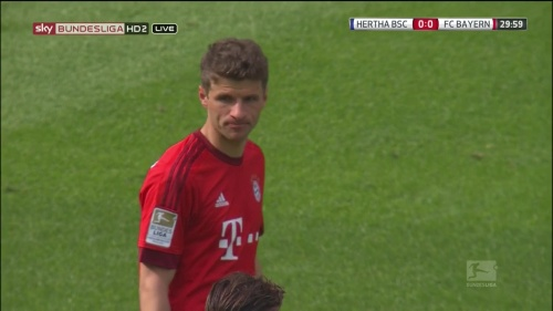 Thomas Müller – Hertha v Bayern 5