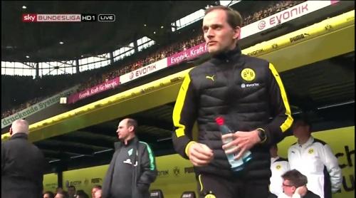 Thomas Tuchel - Dortmund v Bremen 1
