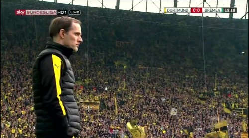 Thomas Tuchel - Dortmund v Bremen 2