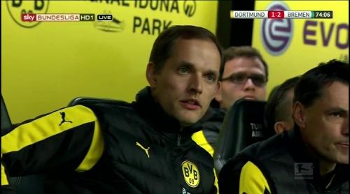 Thomas Tuchel - Dortmund v Bremen 3