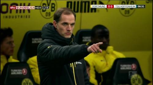 Thomas Tuchel – Dortmund v Hoffenheim 3
