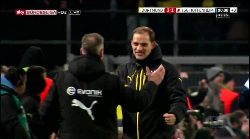 Thomas Tuchel – Dortmund v Hoffenheim 4