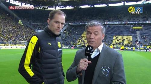 Thomas Tuchel – Dortmund v HSV 1