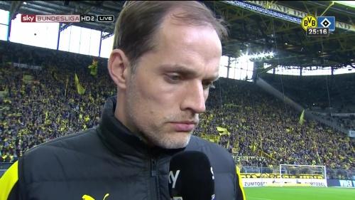 Thomas Tuchel – Dortmund v HSV 2