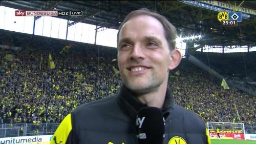 Thomas Tuchel – Dortmund v HSV 3