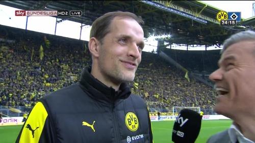 Thomas Tuchel – Dortmund v HSV 4