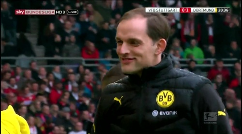 Thomas Tuchel – Stuttgart v Dortmund 1