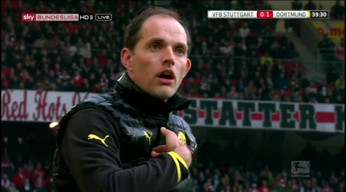 Thomas Tuchel – Stuttgart v Dortmund 2