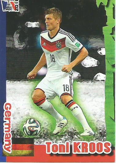 Toni Kroos - Germany - Euro 2016 Schoolshop sticker