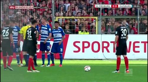 Vincenzo Grifo & Christian Günter – Freiburg v Duisburg 1