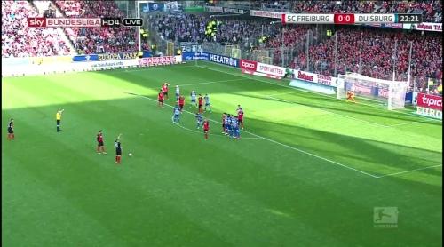 Vincenzo Grifo & Christian Günter – Freiburg v Duisburg 2