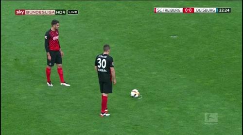 Vincenzo Grifo & Christian Günter – Freiburg v Duisburg 3