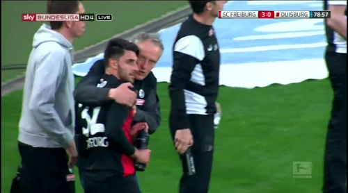 Vincenzo Grifo & Christian Streich – Freiburg v Duisburg 1