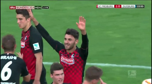 Vincenzo Grifo – Freiburg v Duisburg 4