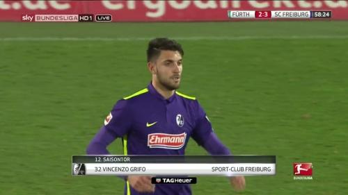 Vincenzo Grifo – Greuther Fürth v SC Freiburg 3